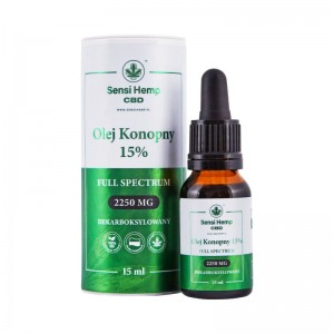 Olejek CBD 15% 15ml, Sensi Hemp